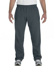 Gildan Sweat Pants 18400 Active Unisex Heavy Blend 8 oz 50/50 Open-Bottom