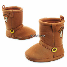 Toy Story Cowboy WOODY COSTUME BABY BOOTS SLIPPERS 0-24 Months Disney Store NEW