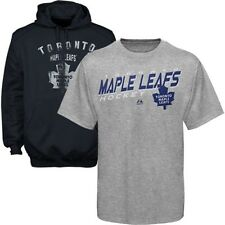 Toronto Maple Leafs NHL Majestic Mens 2 Pack Hoodie And Shirt Combo Big Sizes