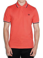 Fred Perry Twin Tipped Polo Shirt- Seasonal Colors- Classic Fit M1200