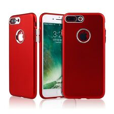 Luxury Shockproof Ultra-thin Electroplate Soft TPU Case Cover For iPhone Samsung