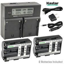 NP-FM500H Battery&Dual Fast Charger for Sony a200  a300  a350  a700, Alpha a58