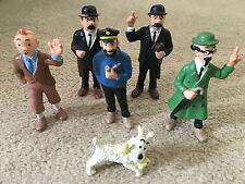 Vintage BULLY Tintin Figures 7cm - BUY INDIVIDUALLY Model Herge Figurine