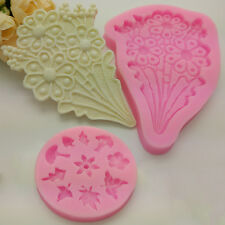 Chocolate Cake Ice Candy Cookie Jelly Mould Mold Silicone Bakeware Baking Tool