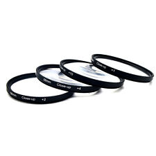 For Nikon/Canon EOS Rebel 52/58mm Close Up Macro 1 +2 + 4 +10 Filter Equip
