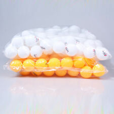 Orange/White 50Pcs 3-Stars 40mm Olympic Table Tennis Balls Ping pong Balls