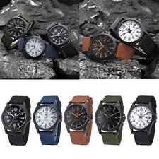 New Mens Military Sports Watch Stainless Steel Analog Army Quartz Wrist Watch