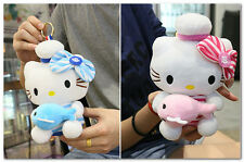 hello kitty Plush doll power bank 6000mAh External Battery Charger for cellphone