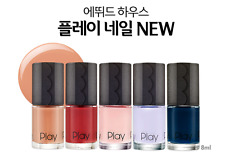 [Etude House] NEW Play Nail Polish (One Color) Collection