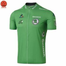2017 Tour France Green SKODA Cycling Jersey Maillot Ciclismo