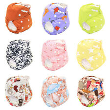Baby Nappies Diapers Pocket Wrap Cloth Nappy Reusable Washable Cover One Size