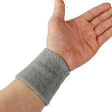 Terry Cloth GYM Sports Basketball Sweatband Wristband Wrist Support Protector
