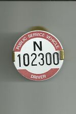 PSV DRIVER/PSV CONDUCTOR/BUS CONDUCTOR BADGES/BUS DRIVER BADGES//PCV