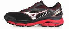 Mizuno Wave Inspire 13 Black Red Moderate Support Running Shoes J1GC174405