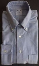 NWOT Brooks Brothers Blue Oxford Cloth Button Down Collar Shirt Regent Madison