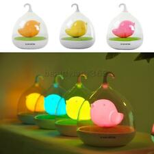 Magideal LED Bird Cage Lamp One Touch Dimmable Rechargeable Bedroom Night Light