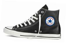 Converse Chuck Taylor All Star Hi Top Black Leather NEW Classic 1S581 Sneakers