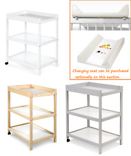 Changing Table - OPTIONAL MIT CHANGING MAT - Baby Changing Unit Station Nursery
