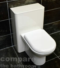 Pacific Curved 500mm WC Unit with Concealed Cistern & Back To Wall Pan Option