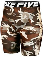 Take Five Camo Mens Compression Baselayer Gym Gear Short Pants Shorts Sports