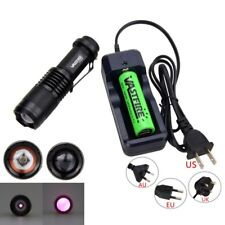940nm 5W Infrared IR LED Radiation Night Vision Flashlight Torch Light W/Charger