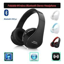 Wireless Bluetooth Headset Foldable Stereo Headphone Earphone for iPhone Samsung