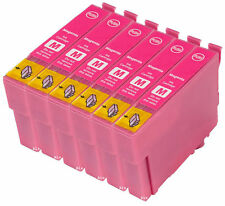 6 Compatible E483 Magenta Ink jet Print Cartridge, For T0483 TO483