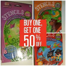 Buy One Get One 50% Off (Add 2 to Cart) Stencils Kits & YouTube Ready