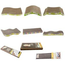 Corrugated Scratching Mat Scratcher Cardboard Bed Interaction Toy for Pet Cats