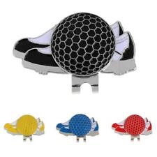 MagiDeal Shoe Design Golf Hat Clip with Magnetic Ball Marker Golfer Gift NEW