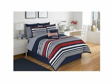 Comforter Bedskirt Sham Set Striped Bedding Cover Twin Full Queen Cal King New