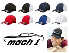 1969 Ford Mach 1 Mustang Classic Car Color Outline Design Hat Cap