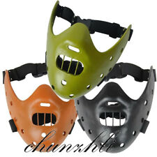 The Silence Of The Lambs Hannibal Lecter Resin Party Mask Halloween Cosplay Prop