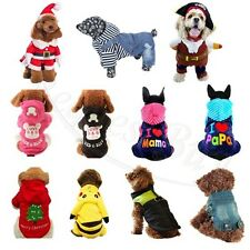 New Pet Jacket Dog Coat Puppy Clothes Winter Warm Apparel Dog Clothing Costume