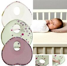 Anti Roll Baby Head Positioner Pillow Infant Newborn Sleep Head Cushion Support