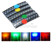 0805 SMD SMT LED 5 Colors Red/Green/Blue/Yellow/White  Light Super Bright LED