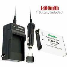 SLB-10A Battery& Regular Charger for Samsung SL620 SL720 SL820 TL9 WB150F WB250F