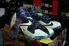DS NIKE LEBRON 11 XI ALL STAR SIZE 9.5 NOLA GUMBO 647780 735 MVP 13 14 WHAT THE