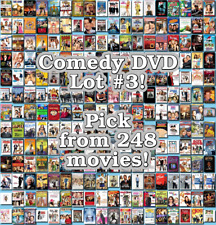 Comedy DVD Lot #3: 248 Movies to Pick From! Buy Multiple And Save!