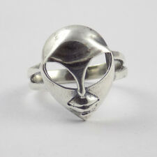 1 Pcs Mask Design Style Ring 925 Sterling Silver High Polished Lovely Ring