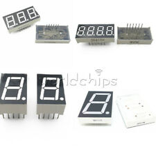 0.56/1.8/0.36 /0.5inch 1/3/4 7 Segment Digit Common Cathode/Anode Led Display