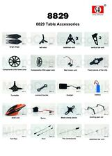 SH 8829 Z-Series 2.4GHz 4 Channel Helicopter Complete Range of Spares Parts UK