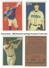 2006 Bowman Heritage Prospects Baseball Set ** Pick Your Team **