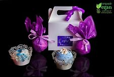 Bath Bomb Gift Set. 4 Lush Highly Scented- Luxury boxed Pamper Handmade Gifts