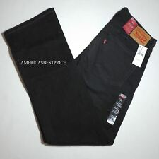 LEVIS 559 NEW MENS BLACK DENIM JEANS,RELAXED FIT,STRAIGHT LEG ,NWT,RETAIL $58