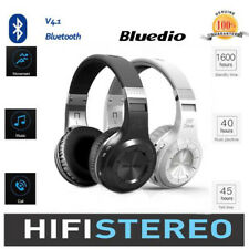 HQ Bluedio Turbine Hurricane Headset Bluetooth 4.1 Wireless Stereo Headphones CR