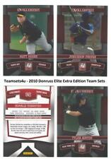 2010 Donruss Elite Extra Edition Baseball Set ** Pick Your Team **
