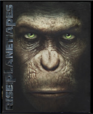 Planet of the Apes/Rise of the Planet of the Apes (Blu-ray, DVD, Slipcover)