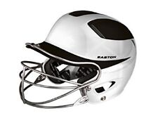 Easton Natural Two-Tone Batting Helmet with Mask