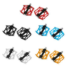 """1 Pair 9/16"""" Thread Bike Pedals Lightweight Cycling Bicycle CNC Platform Pedals"""
